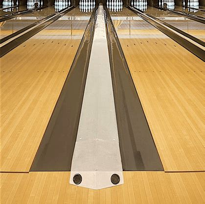 synthetic bowling lanes
