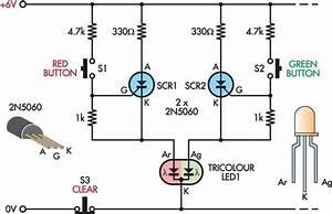 Led Noughts Crosses Circuit Diagram Electronics