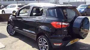 Ford Ecosport Titanium : ford ecosport titanium black 2015 youtube ~ Medecine-chirurgie-esthetiques.com Avis de Voitures
