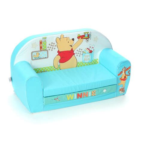 canapé enfants winnie canapé mousse sofa quot tidy quot disney baby