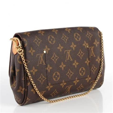 louis vuitton  favorite mm clutch  wstrap monogram
