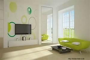 Farben Für Wände Ideen : wohnzimmer w nde gestalten farbe ~ Markanthonyermac.com Haus und Dekorationen
