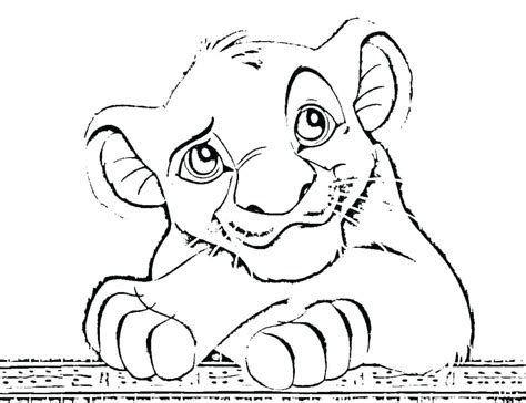 Lion King Coloring Pages Printable Sanfranciscolife