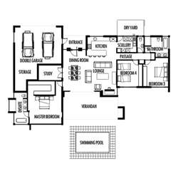 Small Bedroom Cottage Plans Photo by Simple Single Bedroom House Plans Indian Style House Style