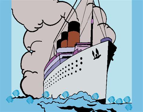 Barco De Vapor Rasi by Dibujo De Barco De Vapor Pintado Por Ramon45 En Dibujos