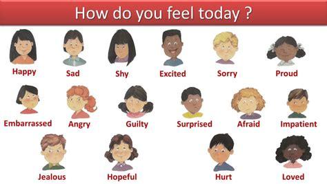 Pregunta Basica En Ingles How Do You Feel Today Youtube