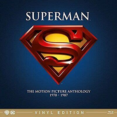 Superman - The Motion Picture Anthology 1978-1987 (4 ...