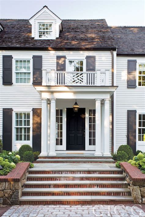 colonial front doors best 25 colonial house exteriors ideas on