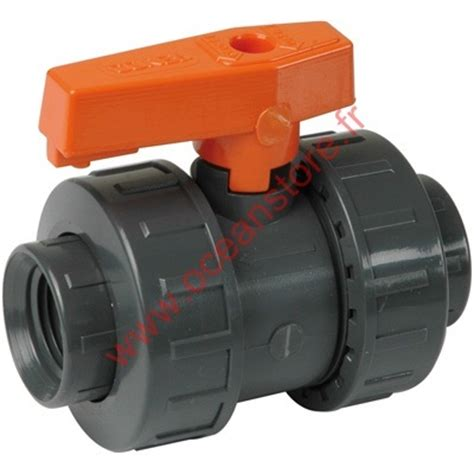 Robinet Pvc 32 by Compact Robinet Pvc A Bille 32 Mm Oceanstore