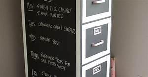 Chalkboard Paint File Cabinet Makeover Hometalk