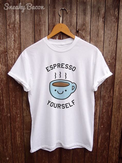 This logo template has a bunch of coffee related graphics like cups, pastries and customize this logo template in seconds to download a professional logo that will represent your coffee house everywhere. Fun coffee T shirt Blue coffee addict shirt coffee lover   Etsy
