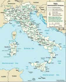 Italy Map with Cities