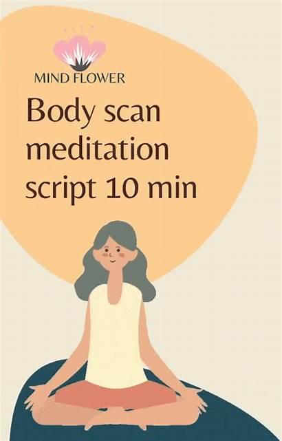 Meditation Mindfulness Scan Script Yoga Minute Garden