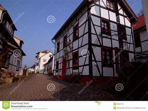maison de l allemagne traditionnelle images stock image 9529784