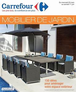 Meuble De Jardin Carrefour : mobilier de jardin carrefour catalogue ~ Teatrodelosmanantiales.com Idées de Décoration