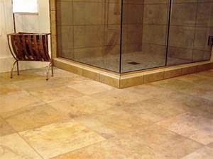 8 flooring ideas for bathrooms for The ingenious ideas for bathroom flooring