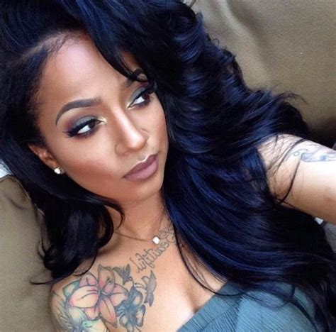 Colors For Black Hair by 7 Best Highlighting Hair Colors For Black Hair