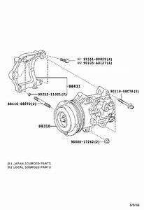 Toyota Highlander A  C Compressor Clutch  Clutch  Magnet  Air  Rear  Conditioner