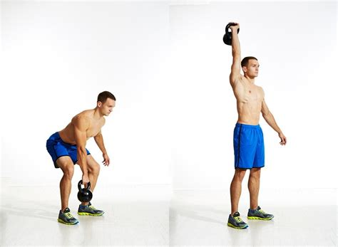 kettlebell arm workout snatch single anyone side bestlifeonline