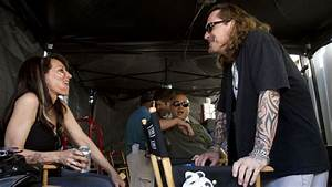 Emmys 2012: Kurt Sutter and Wife Katey Sagal on the Set of ...