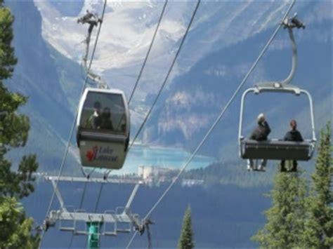 lake louise sightseeing lift gondola of lake