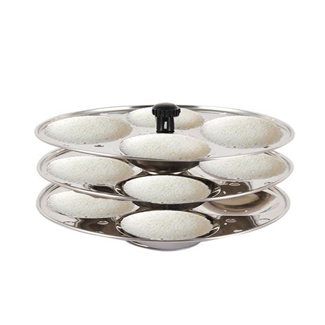 buy stainless steel idli rack  cavities    price  india  naaptolcom