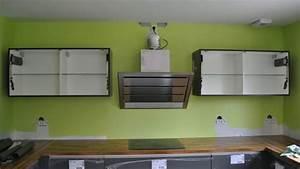 Meuble Cuisine Haut : pose meuble haut cuisine youtube ~ Teatrodelosmanantiales.com Idées de Décoration