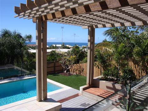 backyard makeover with pool backyard makeover mediterranean pool sunshine coast by soul space