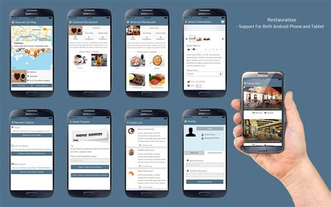 application cuisine android restaurateur solution for any restaurants app by panacea