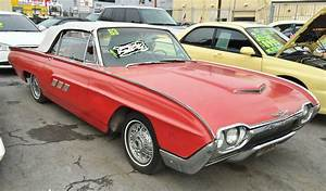 1963 Ford Thunderbird Sports Roadster Convertible