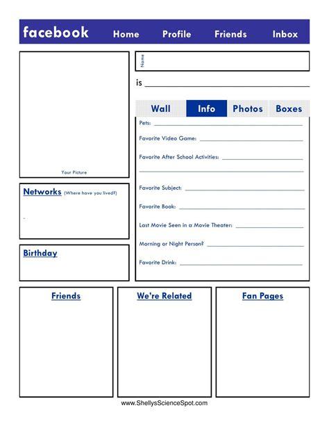 blank facebook page   henley  slideshare