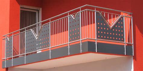 balkonbau auburger balkongelaender aus edelstahl