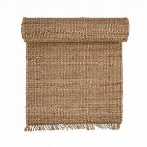 tapis de chanvre par bloomingville connox With tapis en chanvre naturel