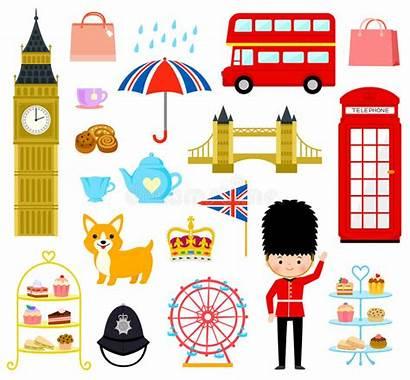 London Cartoon Cartoons England Vector Illustration Related