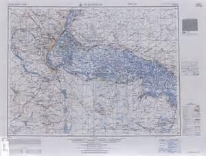 Stalingrad Map of Eastern Europe