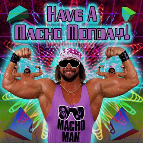 Macho Man Memes - macho man meme on sizzle