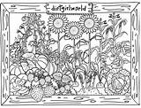 Adult coloring pages outdoors