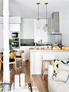 amnagement cuisine ouverte sur salon awesome free With amenagement cuisine ouverte sur salon