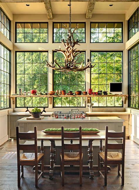 rustic kitchen chandelier 23 antler chandeliers designs decorating ideas design