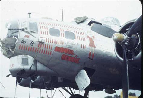 4338039  Bashful Bessie  B17 Bomber Flying Fortress