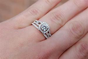 Wedding Favors Engagement Rings With Wedding Bands