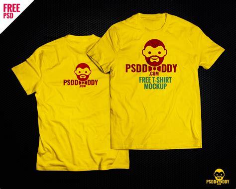 free t shirt design t shirt mock up free psd psddaddy