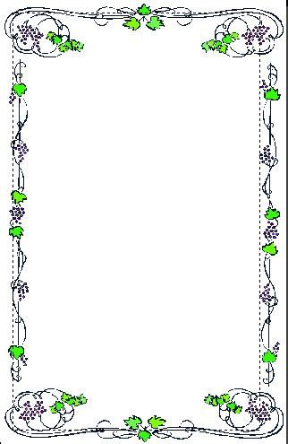 contoh gambar bingkai bunga contoh