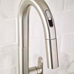 kitchen faucet 3 beale pull kitchen faucet with selectronic free technology american standard