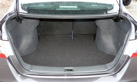nissan sentra trunk space nissan recomended car