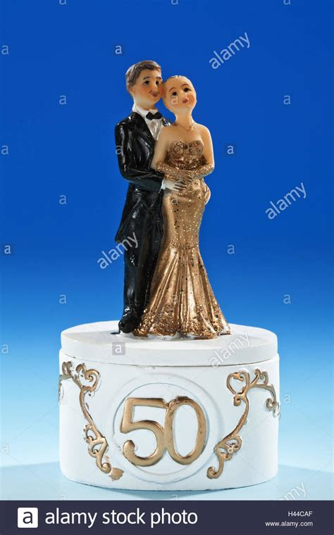 50th Anniversary Cake High Resolution Stock Photography