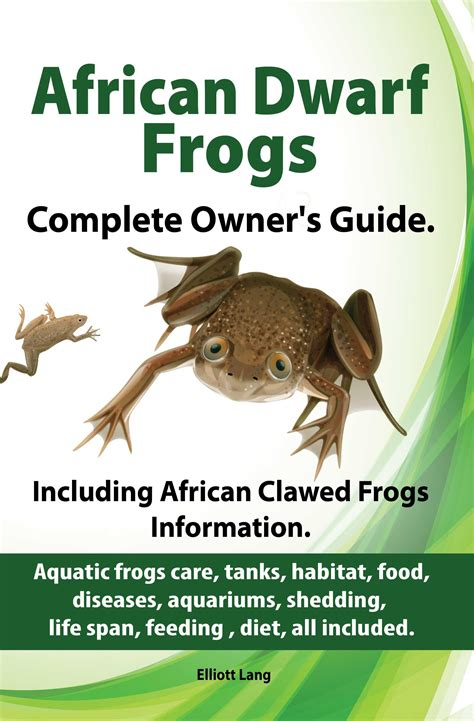 1 quot african dwarf frogs as pets care tanks habitat food