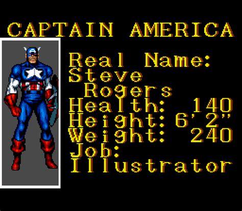 Captain America And The Avengers Screenshots Gamefabrique