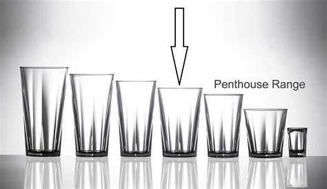 Elite Penthouse 14oz Polycarbonate Tall Glass / Tumbler