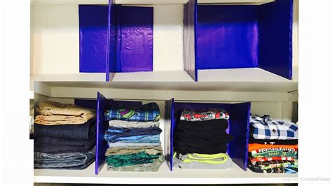 How To Make Closet Dividers by How To Make Shelf Divider Closet Organization Diy From